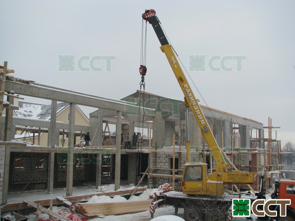 Строительство кирпичных домов в Санкт